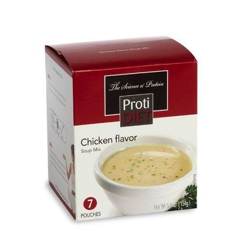 ProtiDiet Chicken Flavor Soup Mix