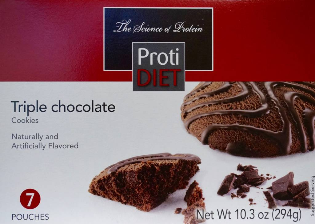 ProtiDiet Proti Triple Chocolate Cookie
