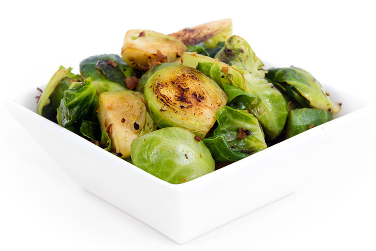 Wanna Try Caramelized Balsamic Brussel Sprouts?