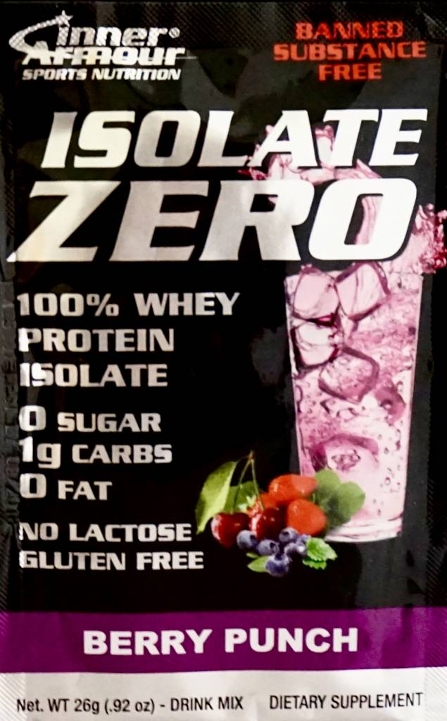 Inner Armour Isolate Zero Berry Punch Drink Mix