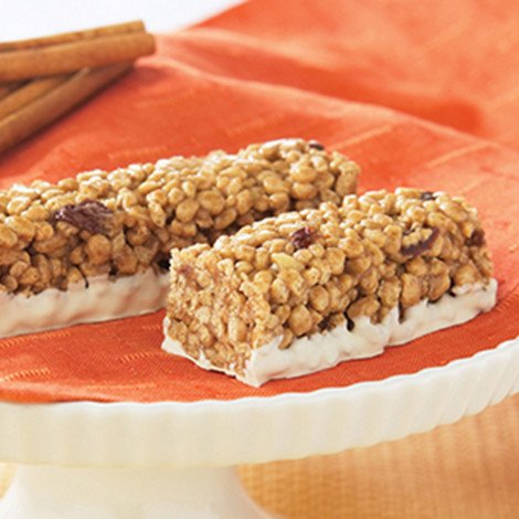 Healthwise Cinnamon Raisin Crispy Bars