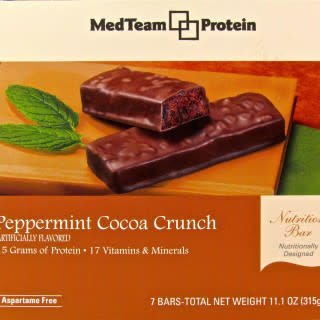 MedTeam Peppermint Cocoa Crunch Bar