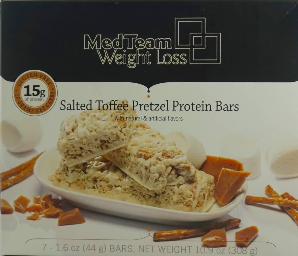 Bariatrix Salty Toffee Pretzel Bar