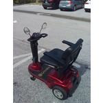 Golden Technologies Pre-owned - Golden Companion 3 Wheel Scooter Red (GC240)
