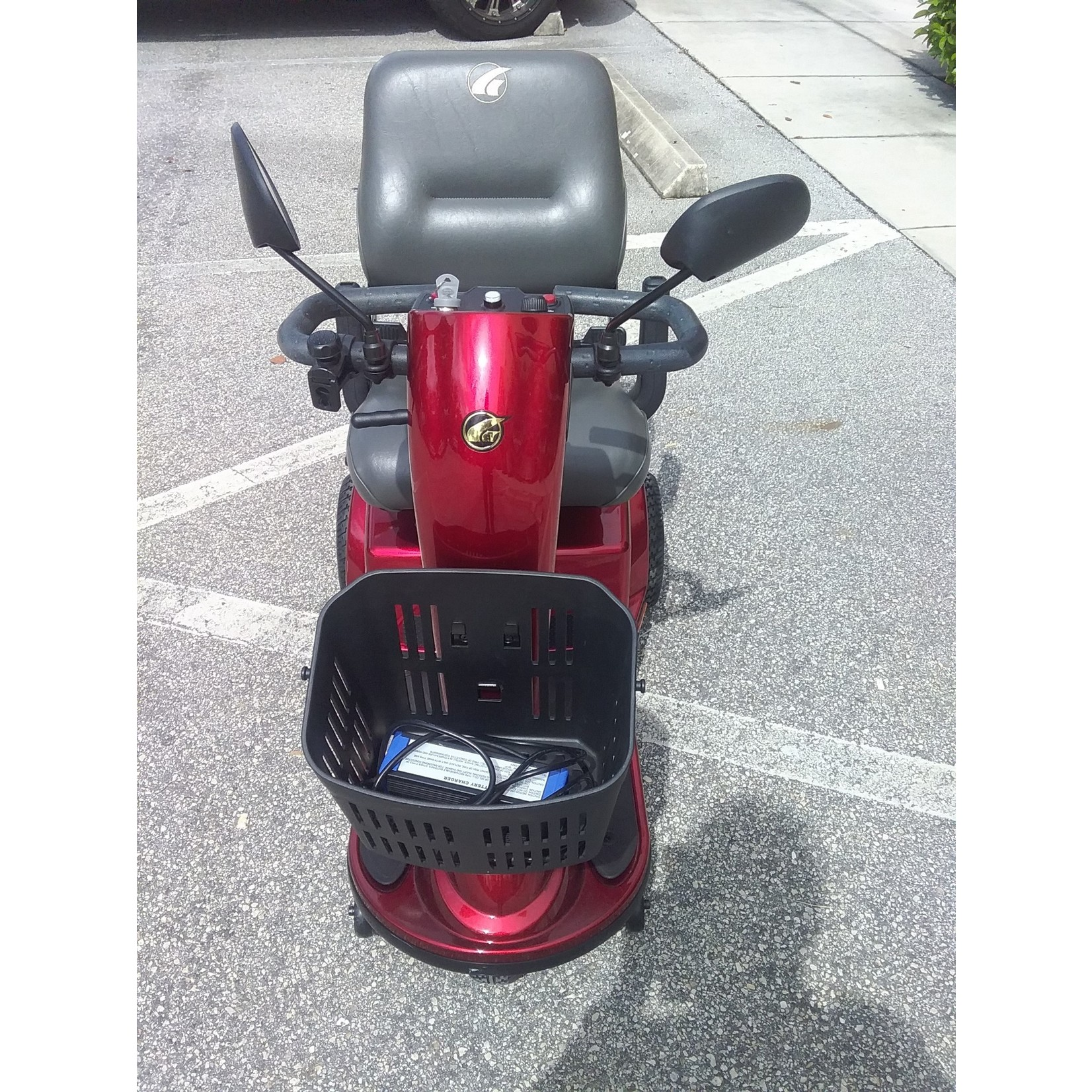 Pre-owned - Golden Tech 3 Wheel Companion Scooter (Without Armrests)