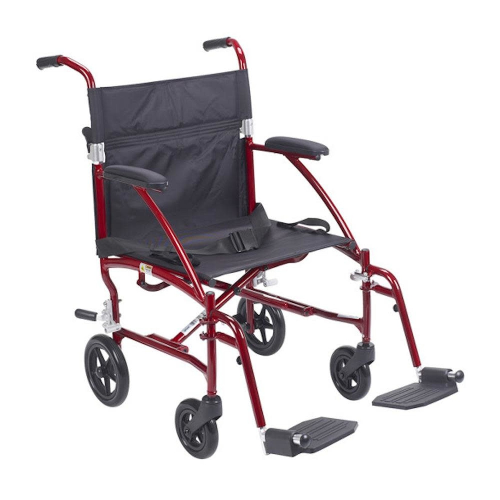 Drive Medical Transport Featherlite Red