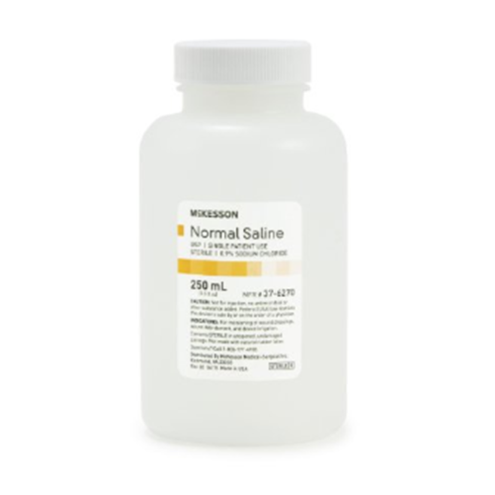 McKesson Sterile Saline 250 mL