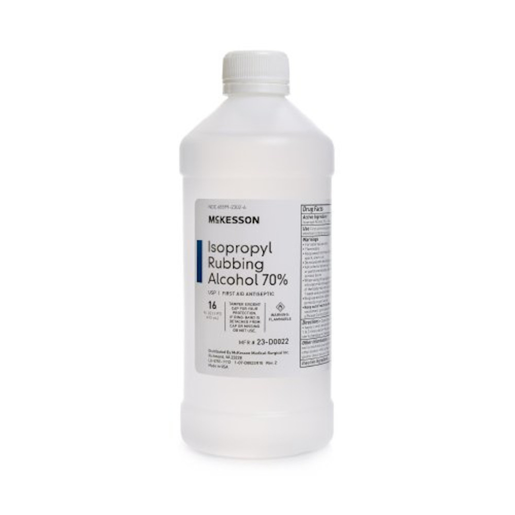 McKesson Alcohol ISO 70% 16oz