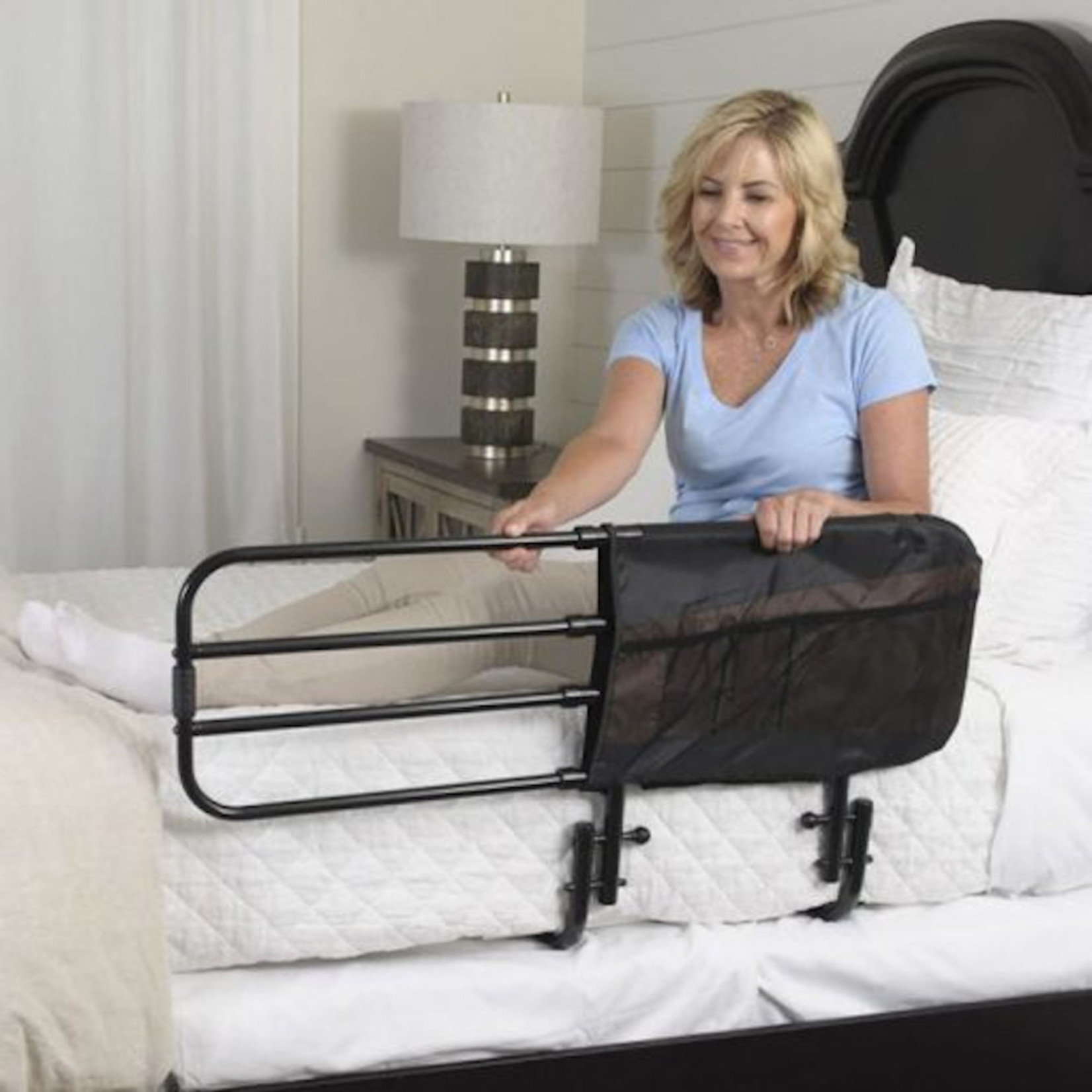 Flamingo Care Products Bed Rail - Adjustable Length