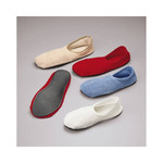Slippers-non skid S:M C:BLUE