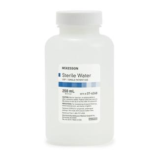 Sterile Water 250 ml