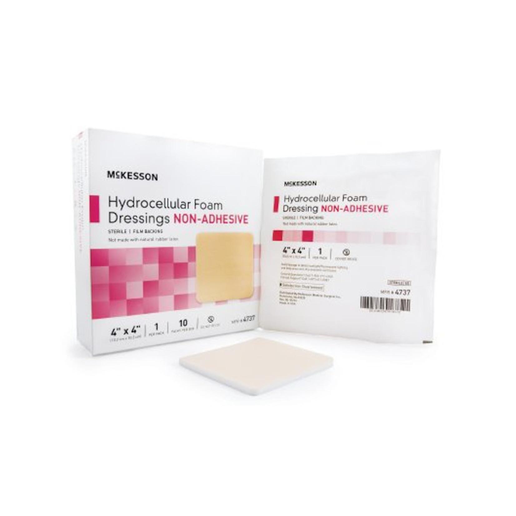 Hydrocellular Foam Dressing, Non-Adhesive 4x4 (Polymem)