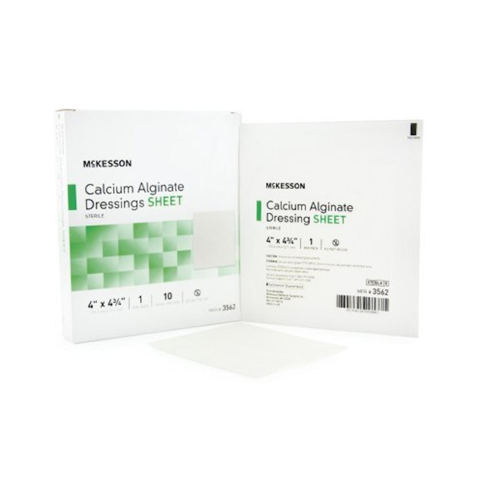 Calcium Alginate Dressing 4x4.3/4
