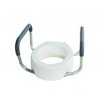 Flamingo Care Products TOILET RISER ROUND W/ ARM BOLT