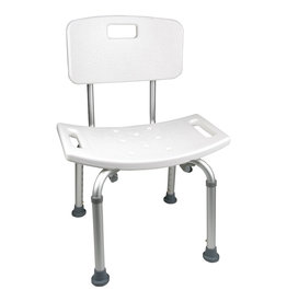Probasics Shower Chair - With Back,  No Arms