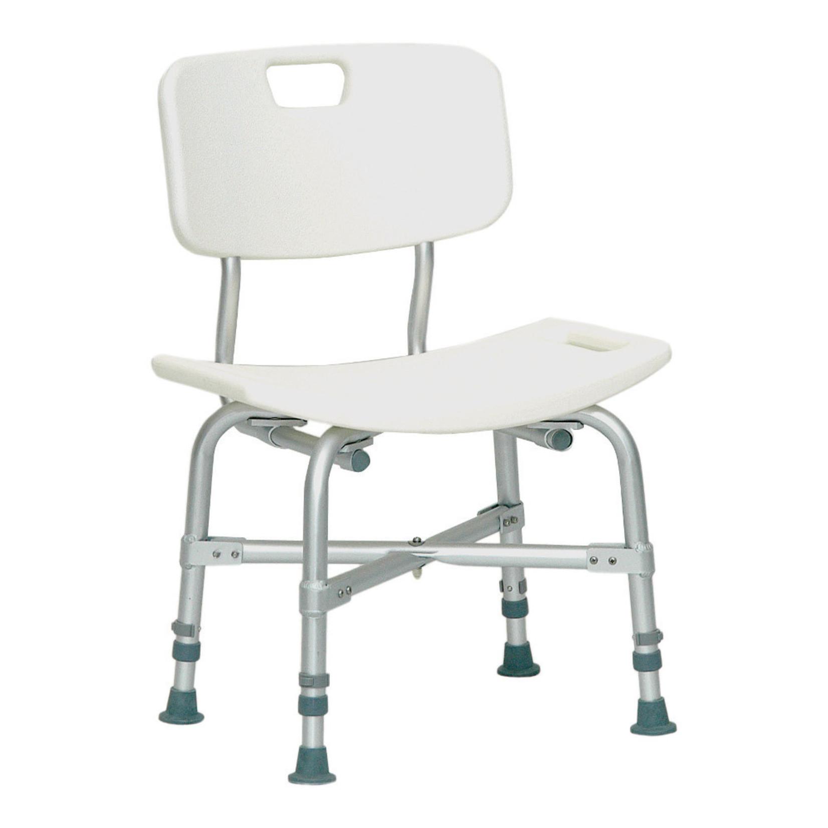 Probasics Shower Chair w/ back - 500 lb