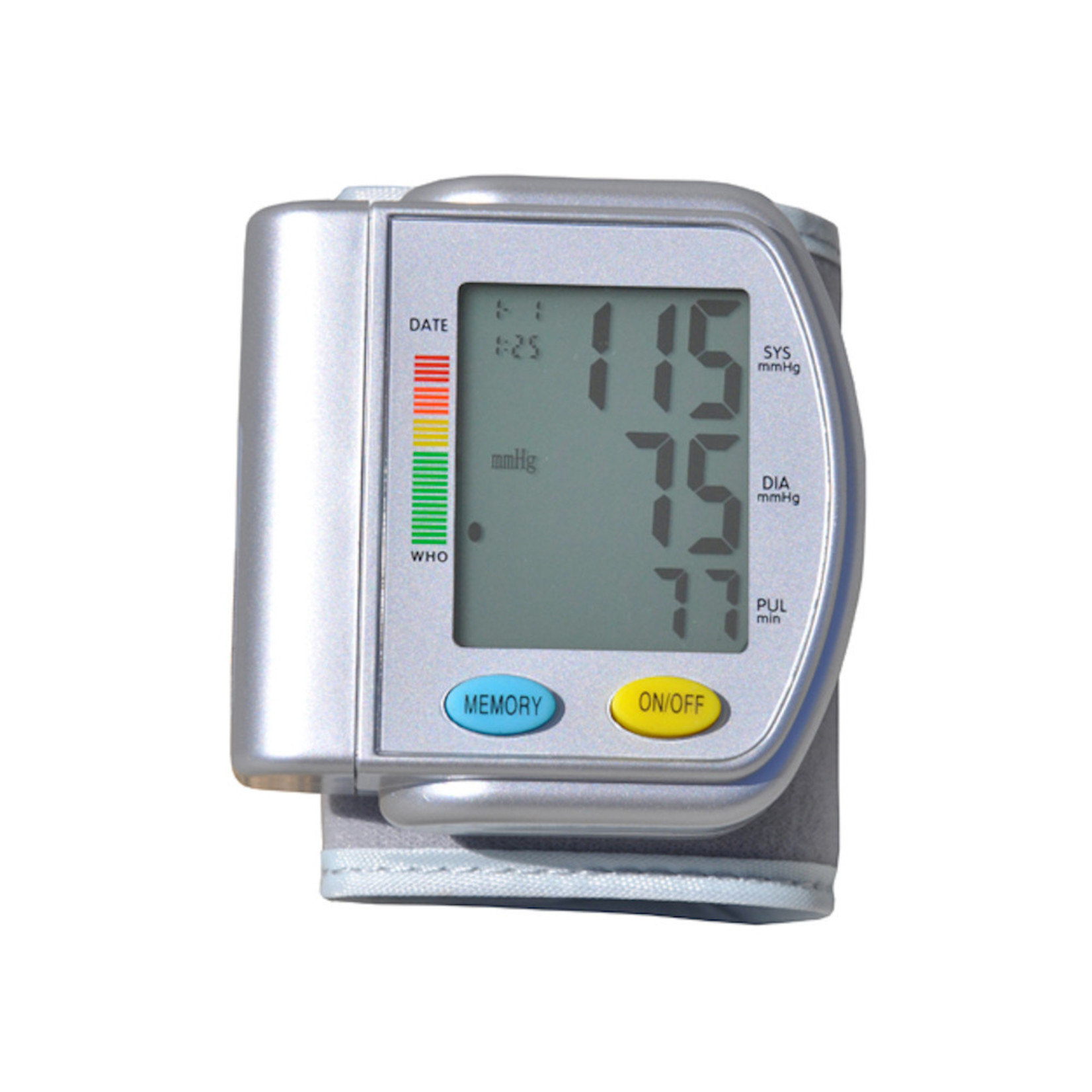 Blood Pressure Wrist, Digital