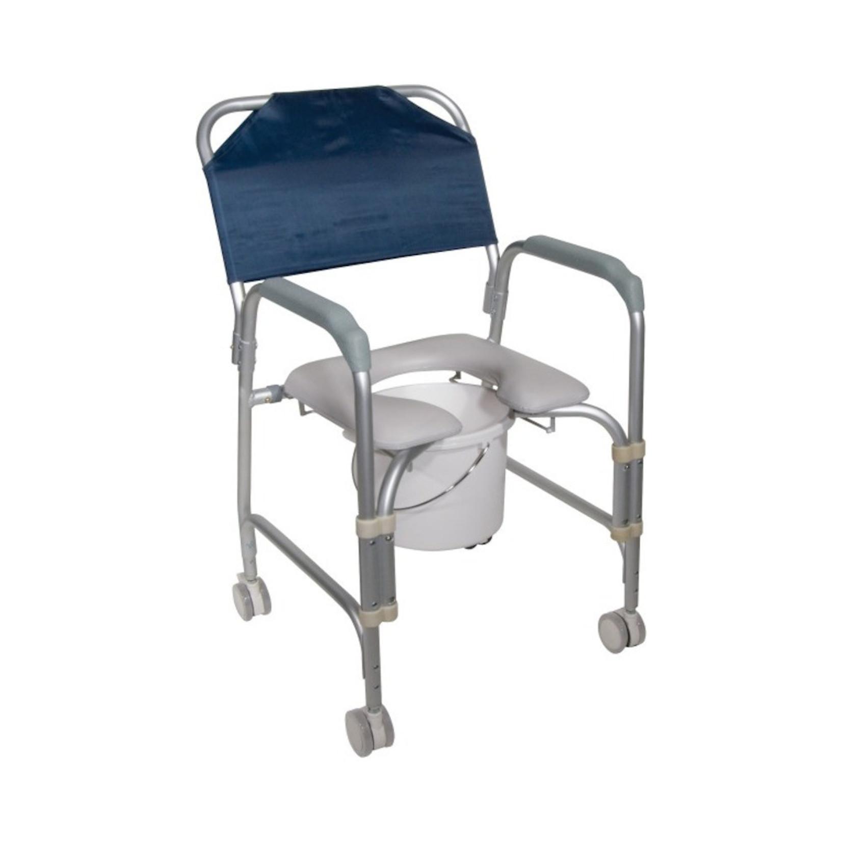 Drive Medical Mobile Shower Chair 300lb cap