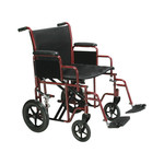 "Drive Medical HD 22"" Steel Transport Chair"