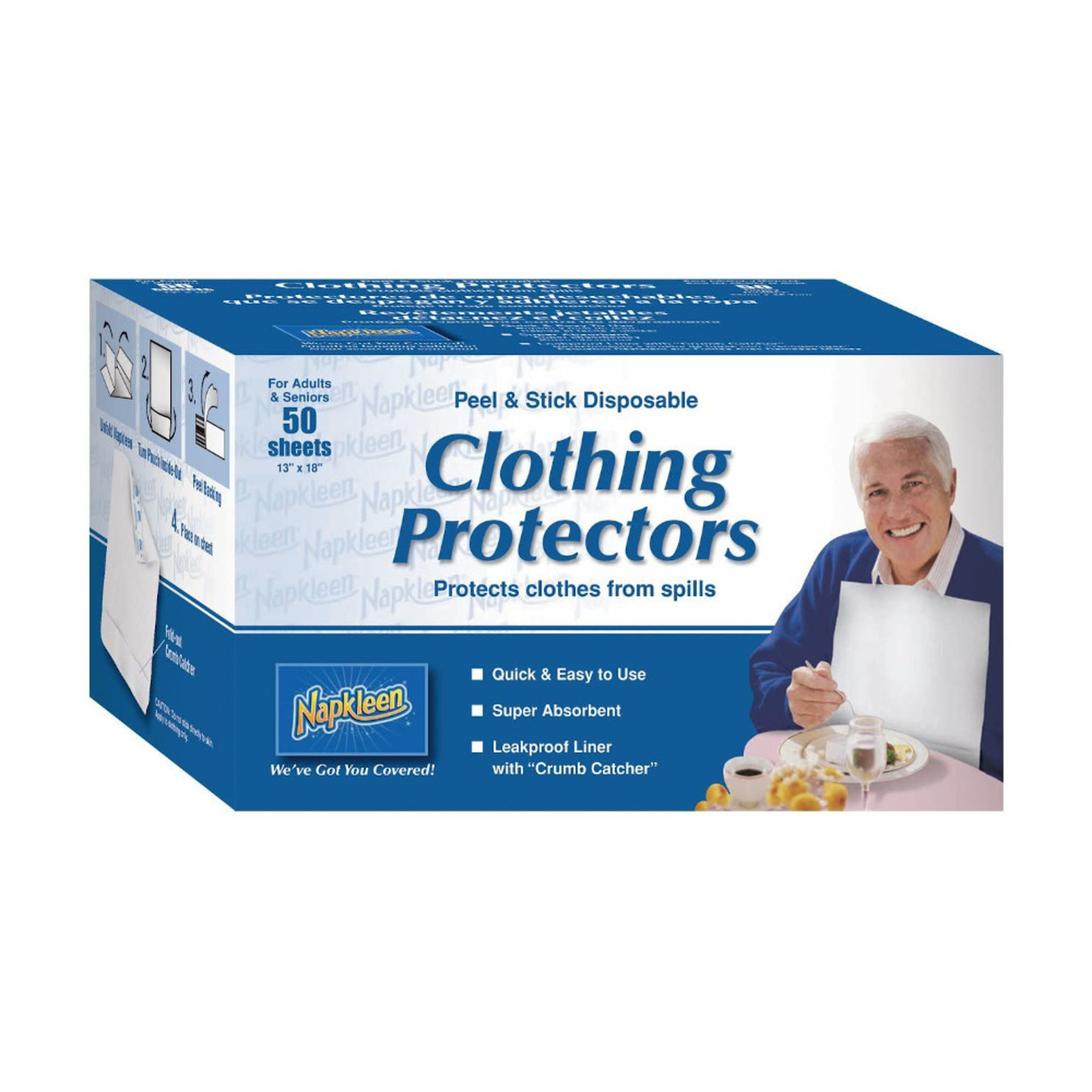 Napkleen Clothing Protect 50 ct