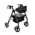 """4 Wheel Walker 6"""" Blue Universal"""