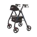 4 Wheel Walker 8'' Blue Universal