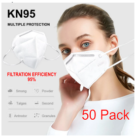 KN95 Mask - 50 Pack - Particulate Respirator