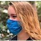 Adult Face Mask Blue Mottled