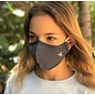 Bee.Active Face Mask 4 Layer  Gray Large