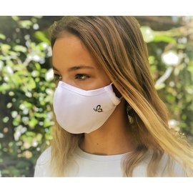 Bee.Active Face Mask 4 Layer  White  Medium