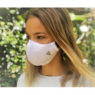 Bee.Active Face Mask 4 Layer  White  Large