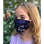 Face Cover - Reversible Kids Reversible Mask Dino/Star - Kids