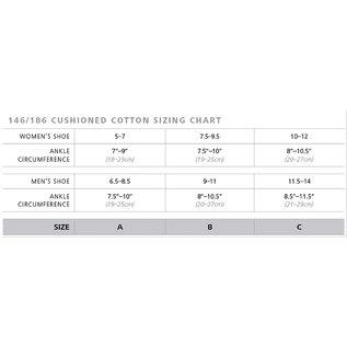 SIGVARIS Men's Casual Cotton Calf 15-20mmHg