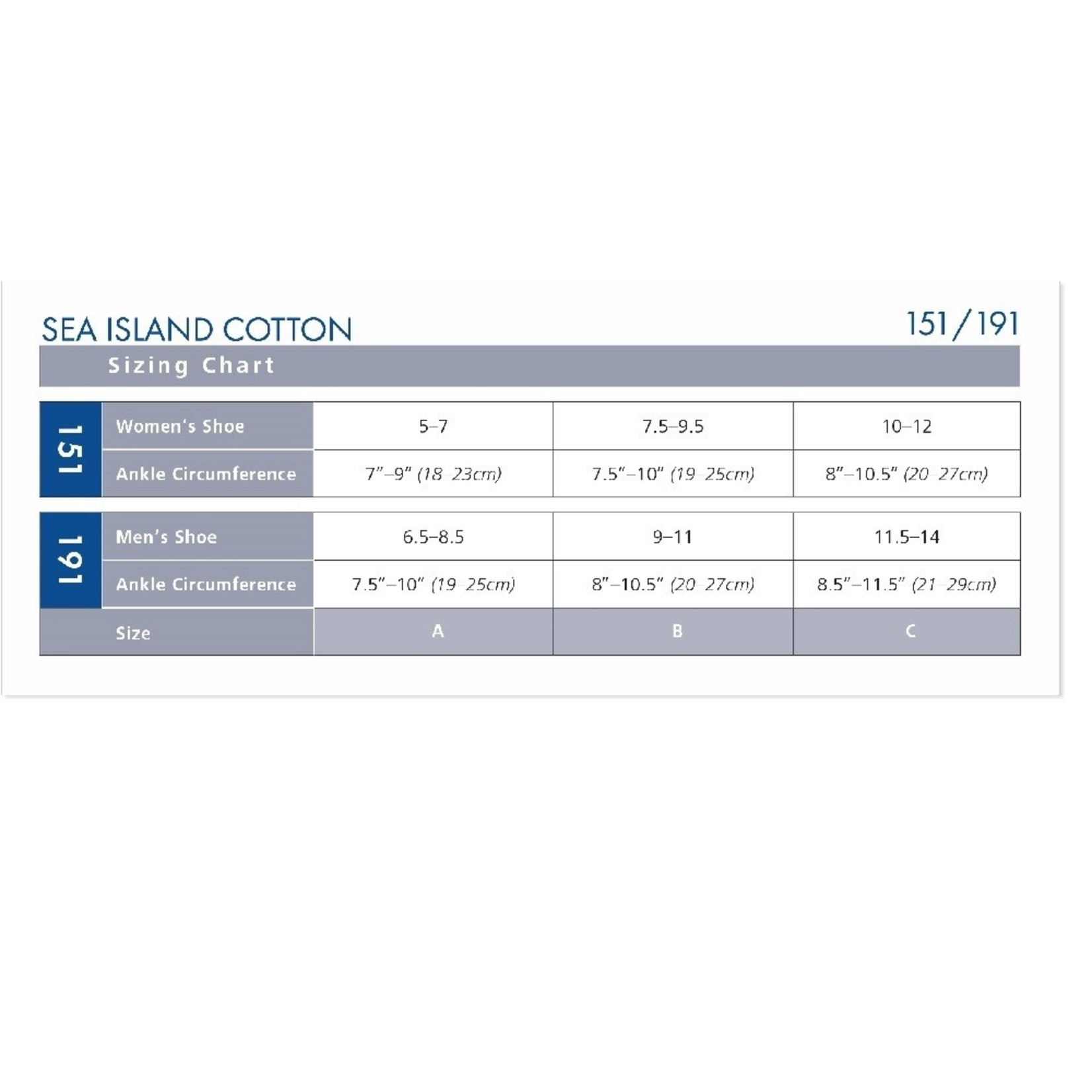 SIGVARIS Men's Sea Island Cotton Calf 15-20mmHg