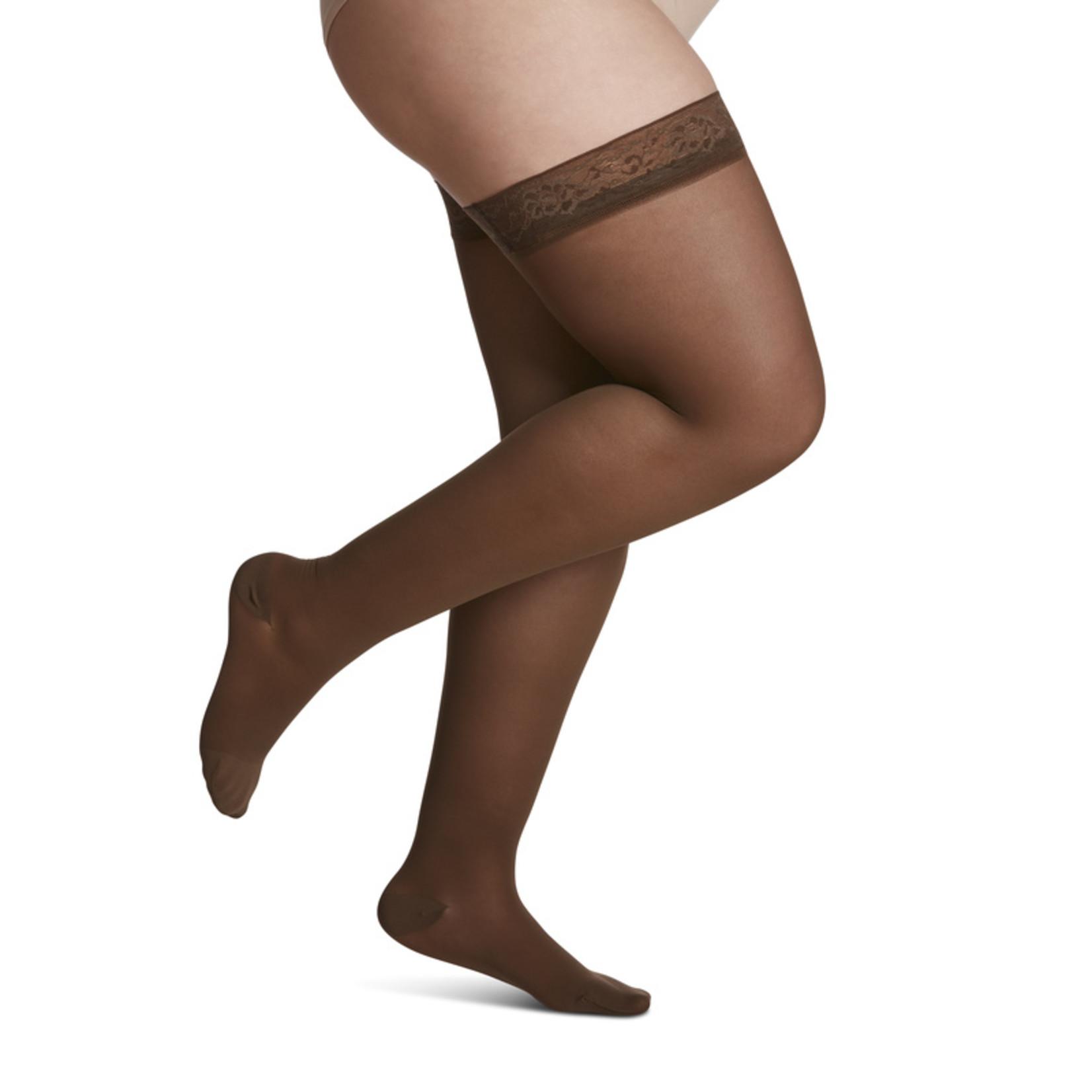 SIGVARIS Women's Style Sheer Thigh-High 15-20mmHg