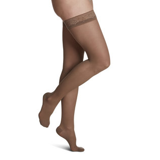 SIGVARIS Women's Style Sheer Thigh-High 20-30mmHg