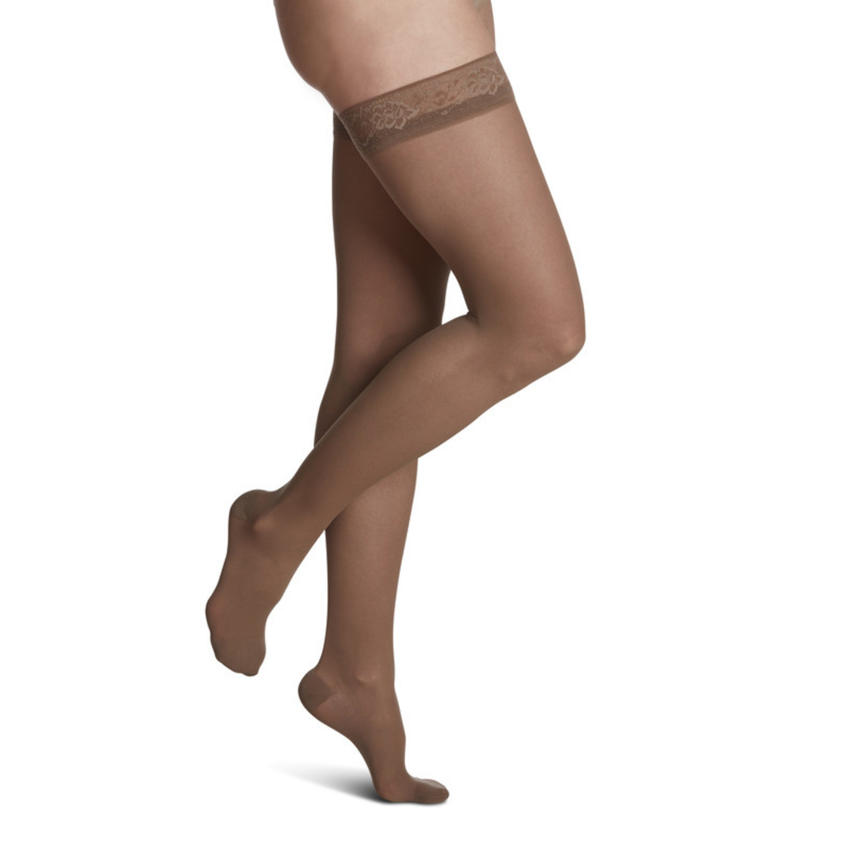SIGVARIS Women's Style Sheer Thigh-High 30-40mmHg