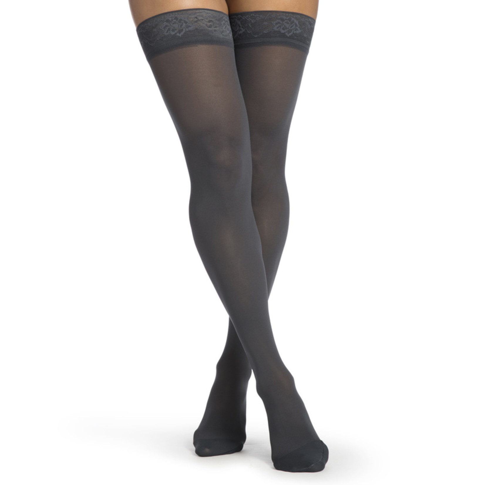 SIGVARIS Women's Style Medium Sheer Thigh-High 20-30mmHg