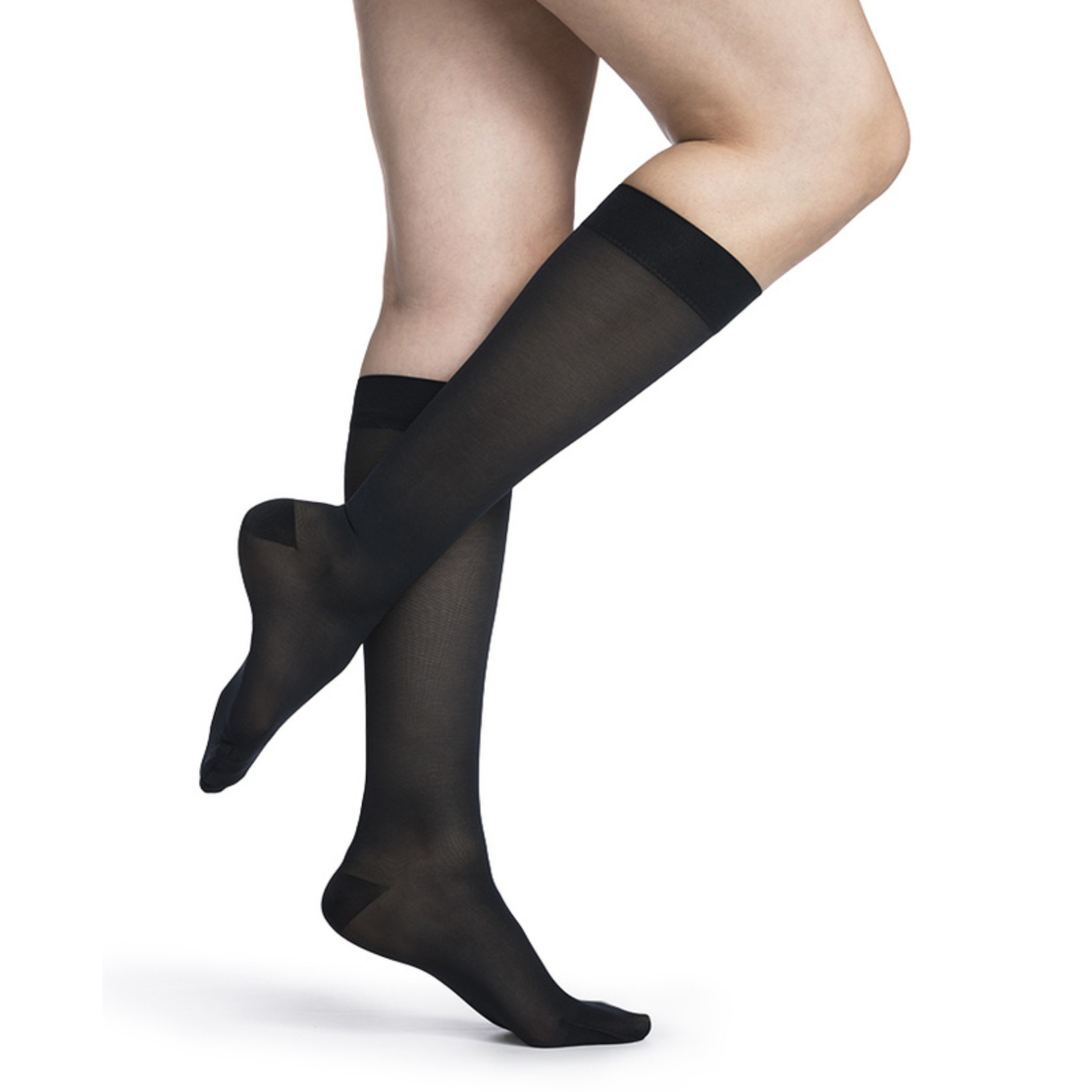 SIGVARIS Women's Style Medium Sheer Calf 20-30mmHg