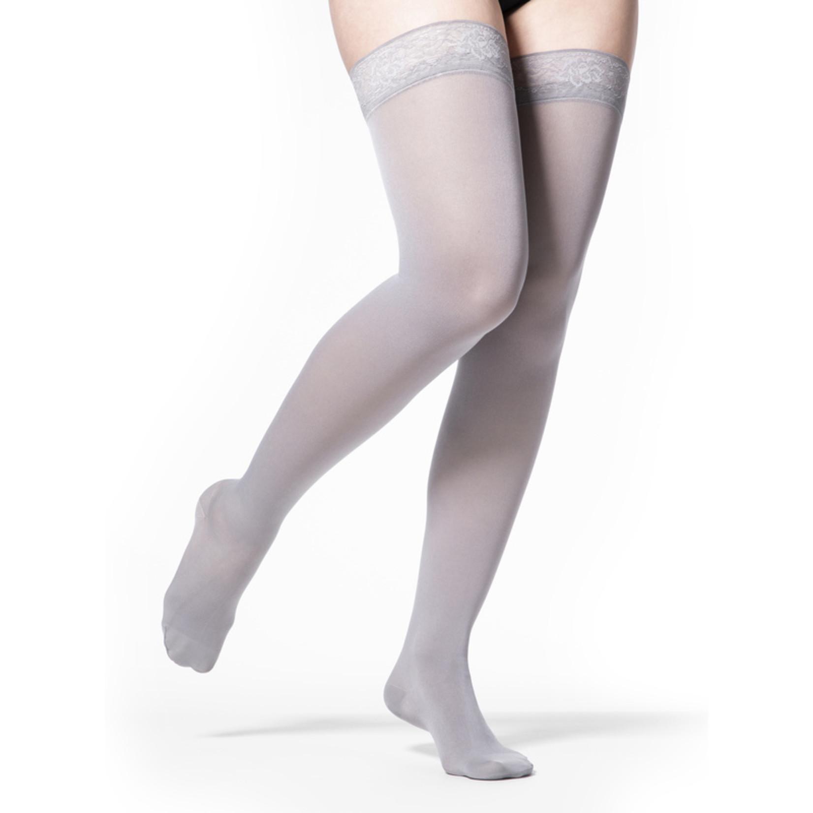 SIGVARIS Women's Style Soft Opaque Thigh-High 20-30mmHg