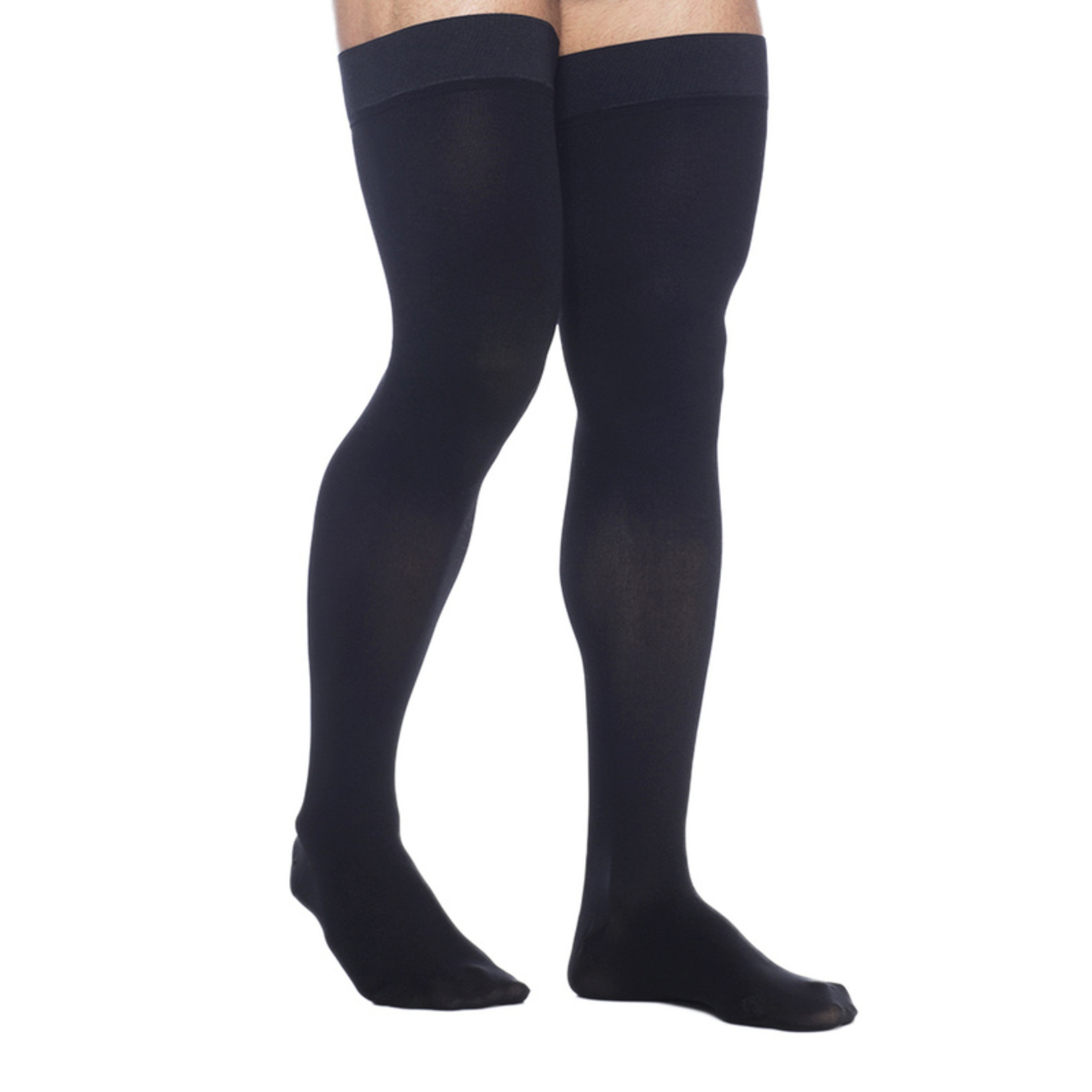 SIGVARIS Men's DYNAVEN Thigh-High 30-40mmHg