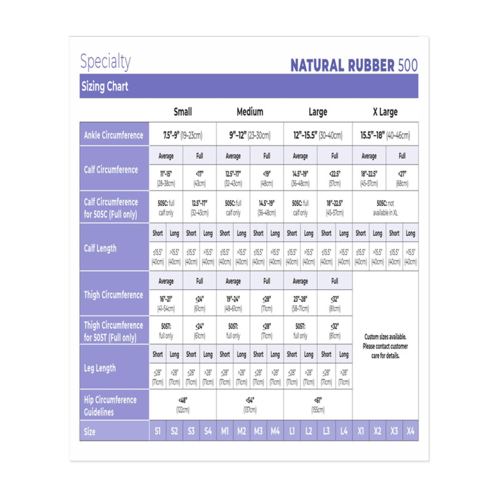 SIGVARIS Natural Rubber Thigh-High - Beige 30-40mmHg