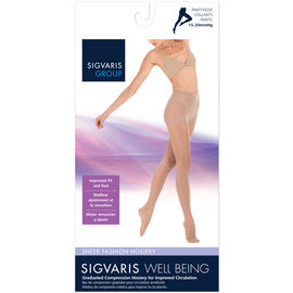 SIGVARIS Women's Sheer Fashion Pantyhose 15-20mmHg