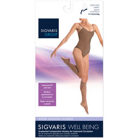 SIGVARIS Women's Sheer Fashion Calf 15-20mmHg