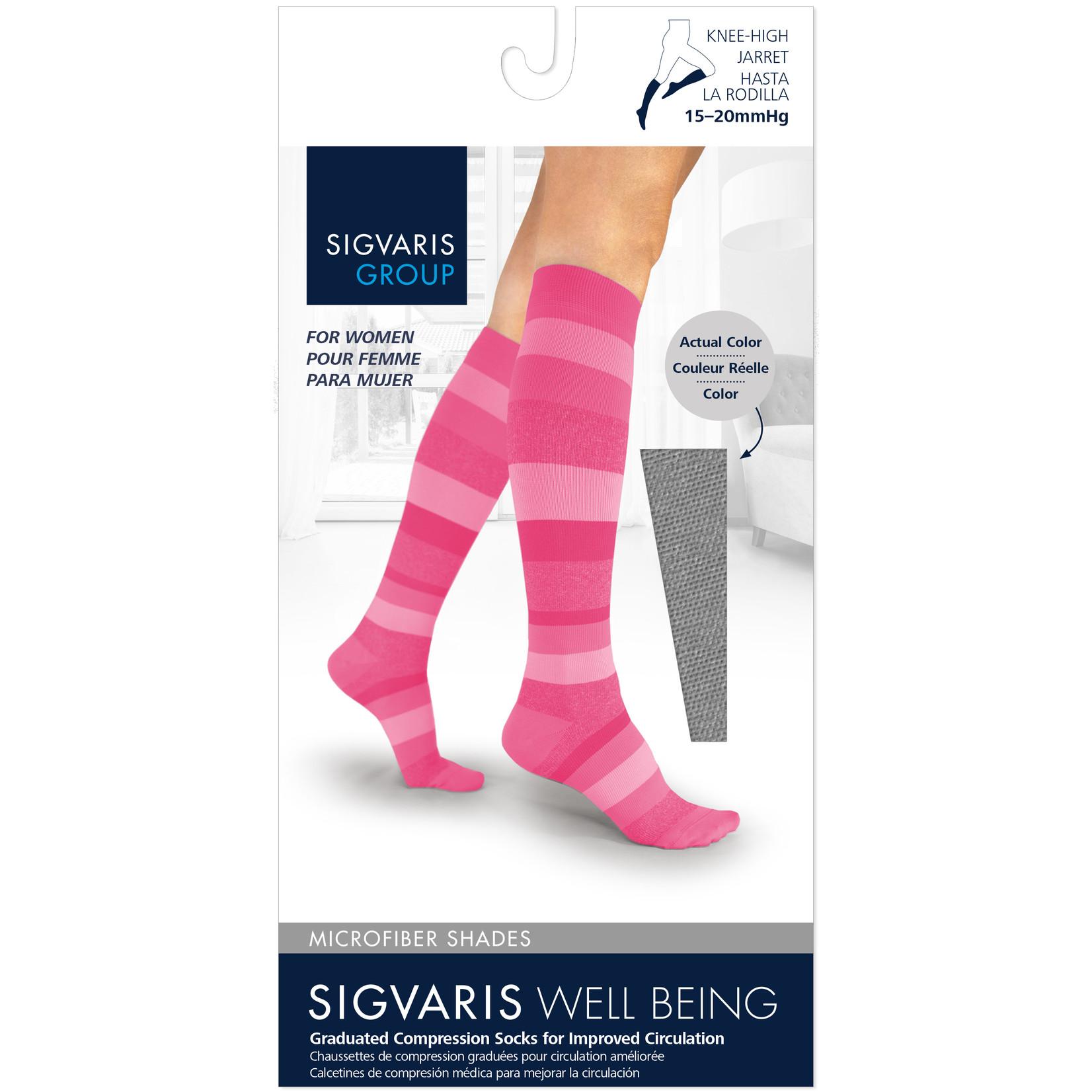 SIGVARIS Women's Microfiber Shades Calf 15-20mmHg