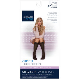 SIGVARIS Women's All-Season Merino Wool Calf 15-20mmHg