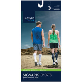 SIGVARIS Athletic Recovery Sock Calf 15-20mmHg