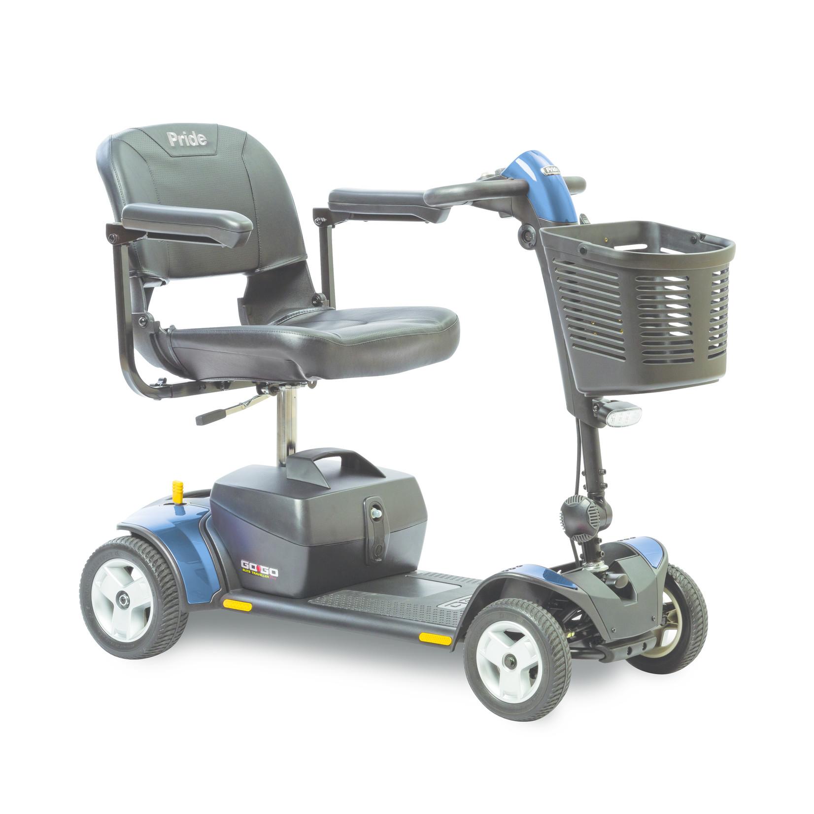 Pride Go-Go Elite Traveller Plus 4-Wheel Scooter