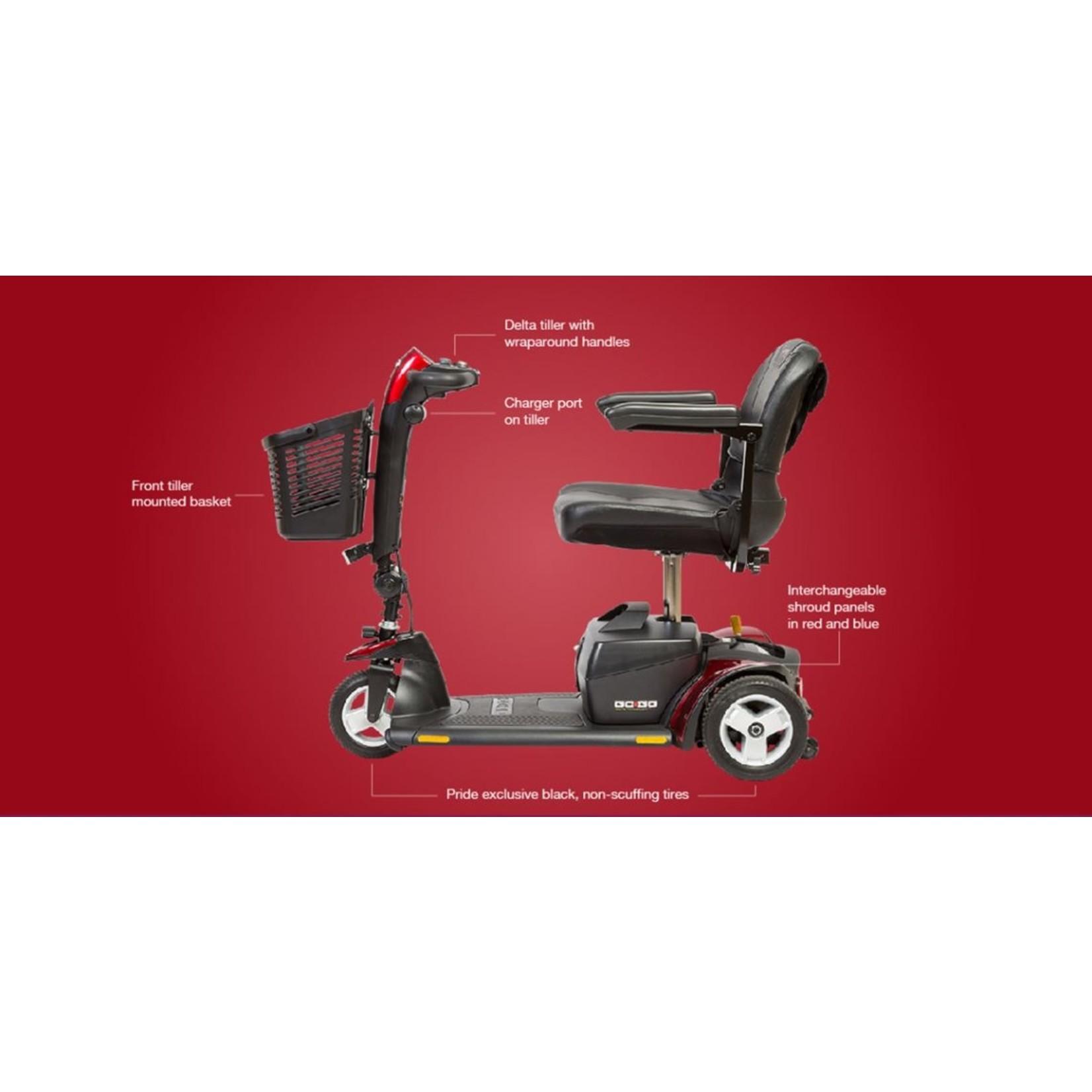 Pride Go-Go Elite Traveller Plus 3-Wheel Scooter