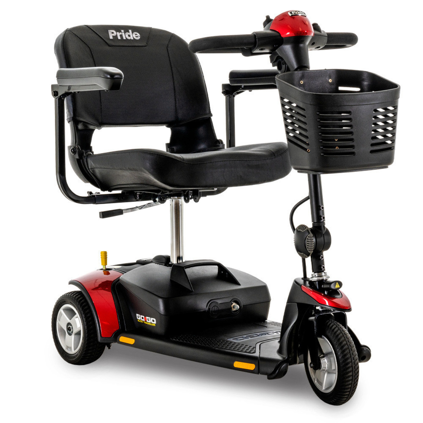 Pride Go-Go Elite Travellers 3-Wheel Scooters
